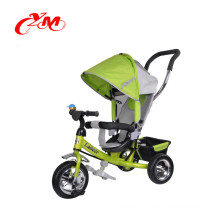 High quality steel frame folding baby tricycle with EVA/AIR tire/cheap baby walker tricycle bike multi-function