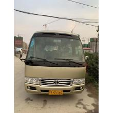 USED Toyota Coaster 17-30 seater 7m length luxury seats desks Gasoline