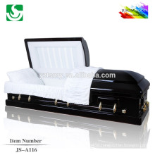 Hot sale professional solid wood ash wood casket picture