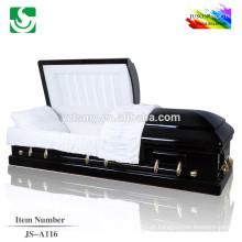 Imagens de madeira do caixão de cinza de madeira sólida profissional venda quente