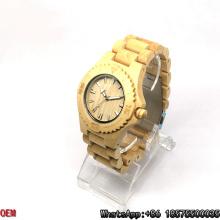 Relojes de cuarzo de alta calidad de madera de arce