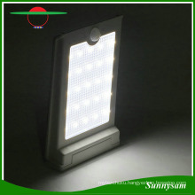 High Brightness Waterproof Solar Powered 25 LED Outdoor Light PIR Motion Sensor Solar Wall Light