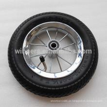 8 1/2 pequena roda de bicicleta de carrinho de bebê pneumático