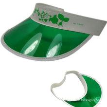 Green PVC sun Visor SV-416