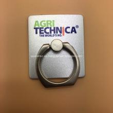 Sostenedor del soporte del anillo de Smartphone con el logotipo impreso