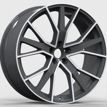 Alloy Custom Audi Wheel 22x.5 Negro Pulido