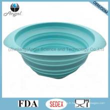 Accessoires de cuisine écologiques Panier de filtre à silicone pour laver des fruits et légumes Sk36 (L)