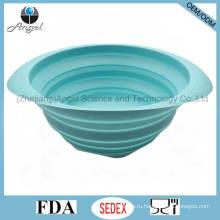 Экологичные кухонные принадлежности Корзина силиконового фильтра для мытья фруктов и овощей Sk36 (L)