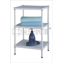 New Design Home Weiß Kunststoff Regal Rack für Badezimmer (CJ-C1158)
