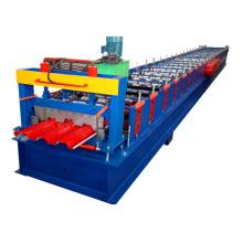xn 720 chapa de acero de color chapa de cubierta de piso de metal que forma la máquina