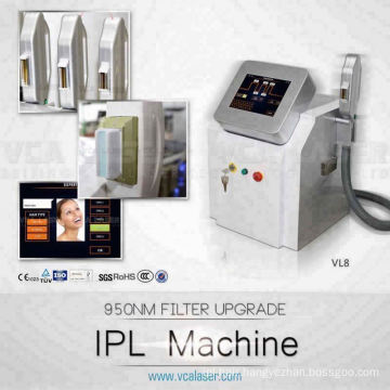 Biggest discount ! 2018 New Portable Multifunction Elight SHR IPL Hair Removal (CE,ISO,TUV)