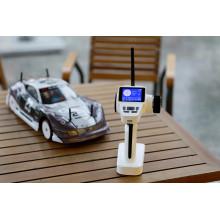 2.4G eléctrico 4WD Brushless 1: 10 aleación de aluminio cepillado Racing coche RC