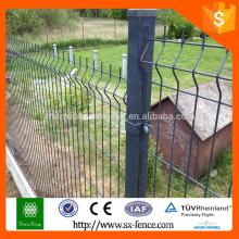 ISO9001 Оцинкованные и с порошковым покрытием металлические заборные зажимы после зажима