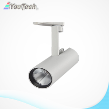 white cover 3wire 10w led track light