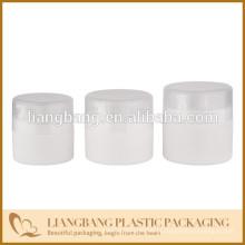 Frasco plástico com frasco redondo, frasco plástico com PP, recipientes