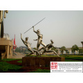 High quality Outdoor Stainless Steel Sculpture