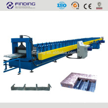 Metalldecke Fräsen Stahl Boden Belag kalt Roll ehemaligen low-cost Stockwerk machen Aussenborder Hersteller für Stahlbau