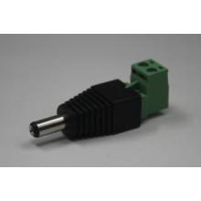 Vert Type L avec vis 12V 5.5 / 2.1mm Connecteur femelle femelle et femelle DC