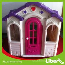 Hohe Qualität LLDPE Kinder Indoor Spielplatz Ausrüstung Plastik spielen Haus zum Verkauf Qualität gesichert