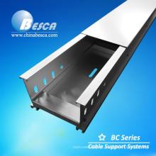 Aleación de aluminio a través de la bandeja de cable con la marca del CE (perfil de aluminio)