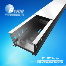Aluminium Alloy Through Cable Tray With CE Mark (Aluminium Perofile)