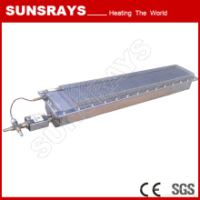 Séchage de traitement de surface en métal, brûleur à gaz infrarouge