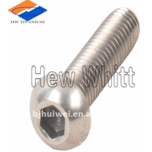 Gr5 Titanium button head screws ISO7380