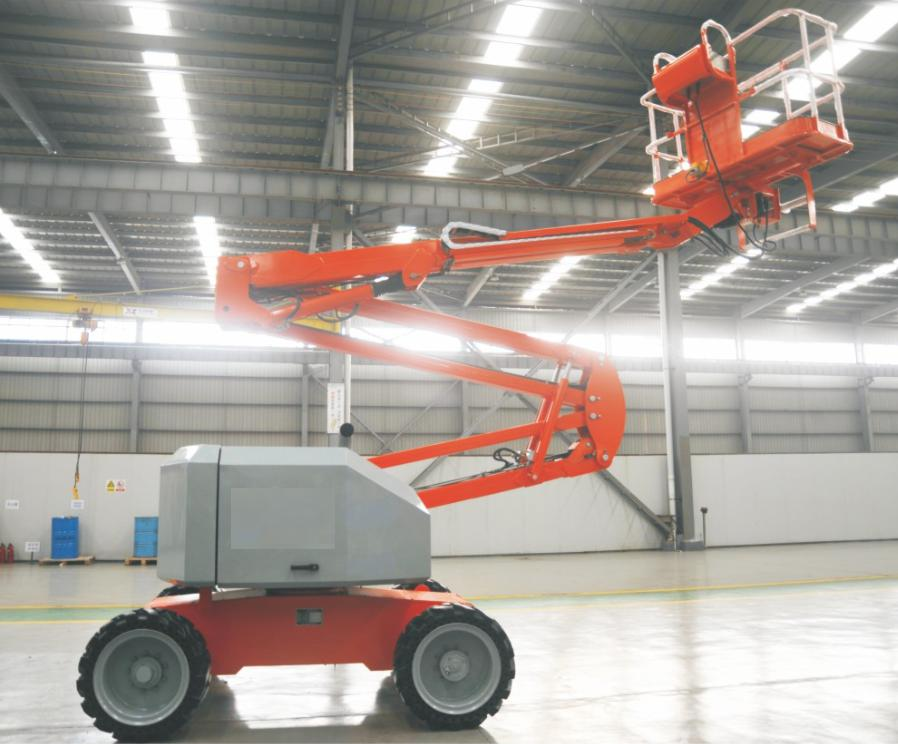 Articulating Aerial Working Platform