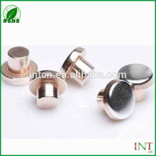 Hot sell new products Electrical contact materials switch contact rivets