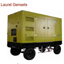 500 Kw Trailer Type Generator Set / Genset with Cummins Engine