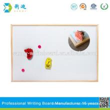 Magnetische Werbe-Whiteboard und Reißbrett mit Holzrahmen