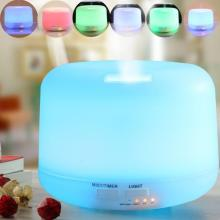 Home Rechargeable Essential Oil Wood Aroma Diffuser 500ml