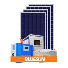 Sistemas de paneles de sistema solar Bluesun 5000w 5kw para uso doméstico
