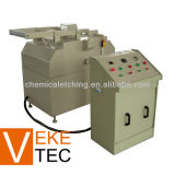 Metal etching machine for stamping dies