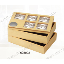 Jewelry Box and Wooden Box with Photo for Home Deco