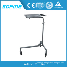 SF-DJ141 hospital ues stainless steel medical cart with wheels