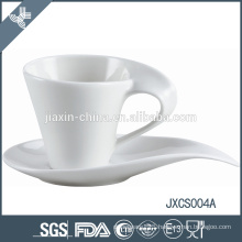 2015 new 100CC porcelain coffee cup & saucer, antique design cup and saucer, coffee cup set
