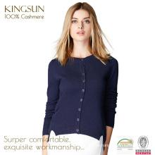 Kaschmir-Pullover Frauen Langarm-Cardigan