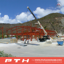 2015 Low Cost Large Span Steel Structure Warehouse
