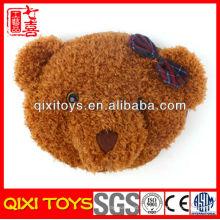 neue Art süß und weich Bärenkopf Plüsch Hand warmes Kissen