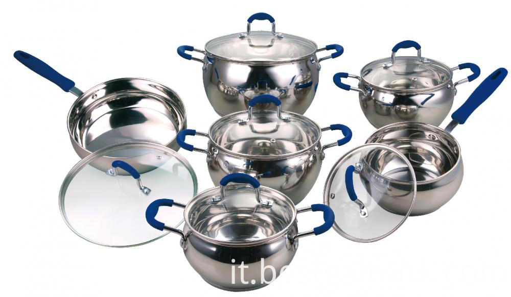 Cookware Set Stainless Steel