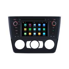 """3G / WiFi 6.2 """"Navegación de DVD del coche de la unidad principal para BMW 1 serie E81 E82 E88 con GPS Navi"""
