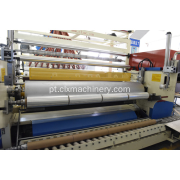 Stretch Wrap Pallet Film Making Machine Preço