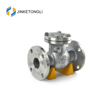 JKTLPC071 loaded lift forged steel flanged foot check valve