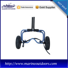 Aluminum canoe and kayak carrier, Beach foldable trolley, Practical boat trailer
