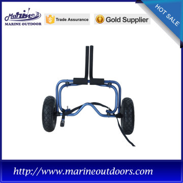 Aluminum canoe and kayak carrier, Boat trailer wheels, Anodized frame trolley cart