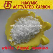 99% Al2O3 corindon blanc abrasif (WFA) pour le sablage