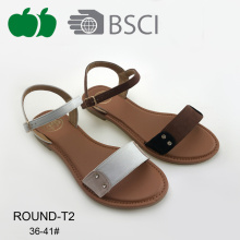 Fashion Latest Summer Comfortable Pu Sandals