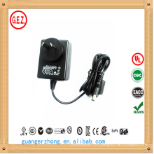 SAA CCC ROHS 15v 2a ac/dc power adapter