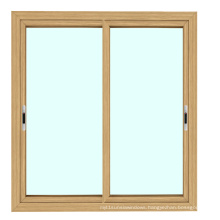 Feelingtop Safety Frosted Glass Aluminium Thermal Break Sliding Window with Net (FT-W85/132)
